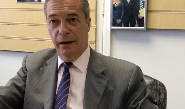 Nigel Farage announces Brexit Party will not stand in Tory seats