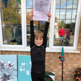 Noah notches up £100's in Chafford Treasure Hunt