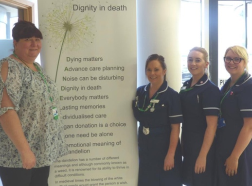 Open conversations ease the burden of bereavement for Thurrock patients