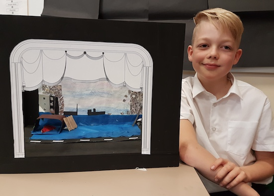 Little Thurrock's Oliver's design win top prize in Royal Opera competition