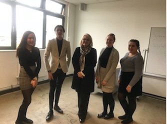 Ormiston Park Academy students gain an insight into law