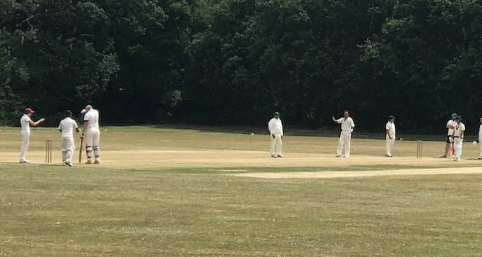 Cricket: Orsett and Thurrock 3rds wilt in duel in the sun