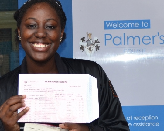 It's all smiles at Palmer's College