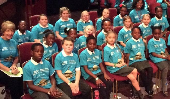 Tilbury Pioneer students sing at the Royal Albert Hall