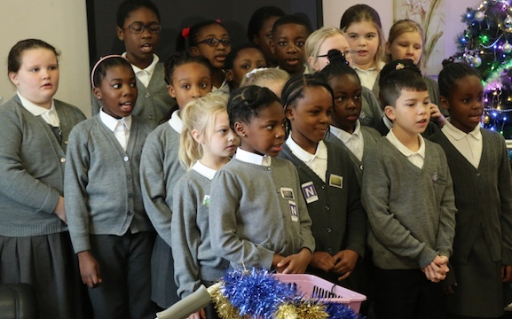 Tilbury Pioneer Choir visit Care Home for Christmas