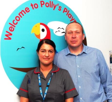 Basildon Hospital couple to go nuclear for Polly