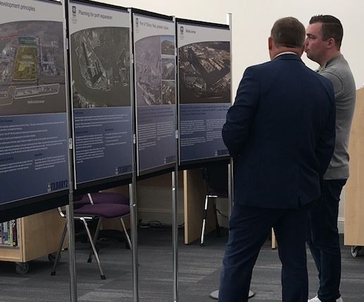 Port of Tilbury thank community at consultation for new port