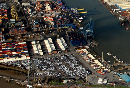 Mick George Ltd win earthworks contract at Port of Tilbury