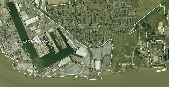 Port of Tilbury writes to landowners regarding expansion