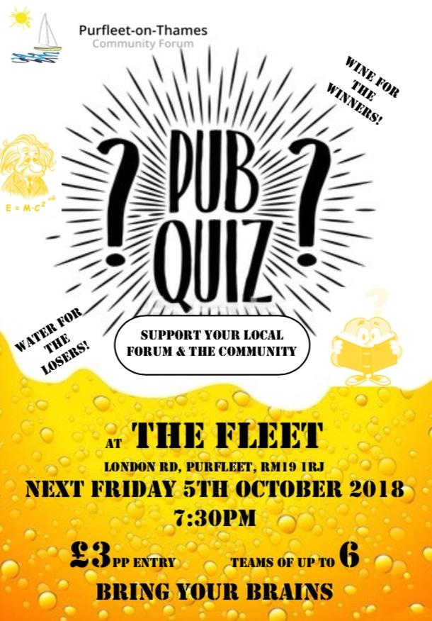Pub Quiz in Purfleet