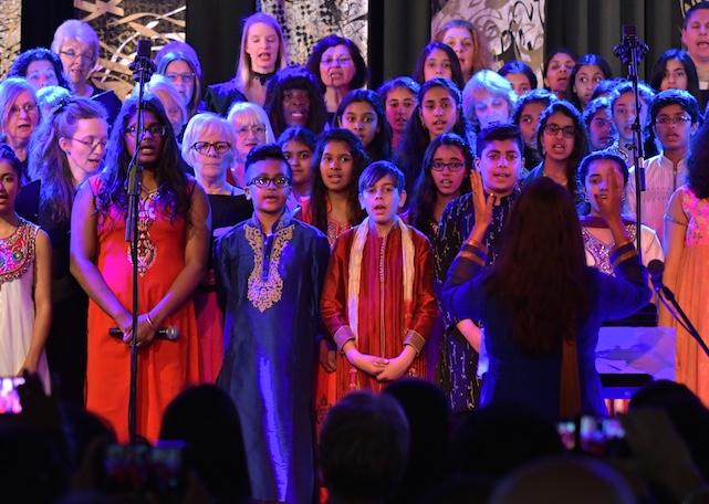Royal Opera Thurrock Chorus perform Ravi Shankar opera