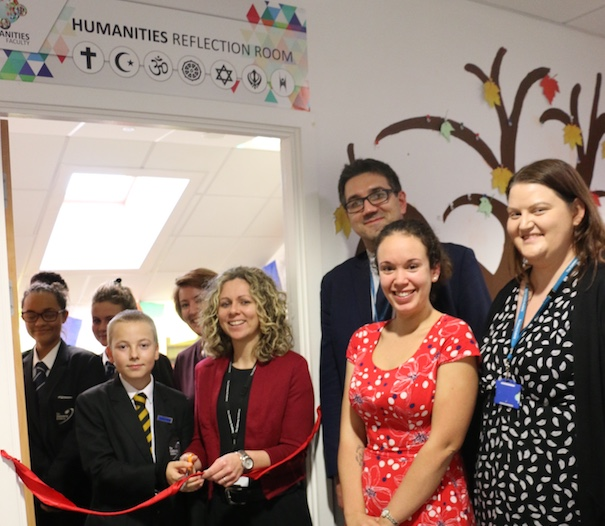 "Gateway Academy opens ""Reflection Room"""