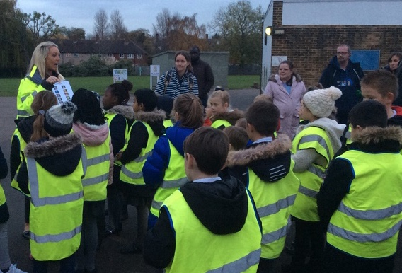 Hundreds of pupils complete road safety course