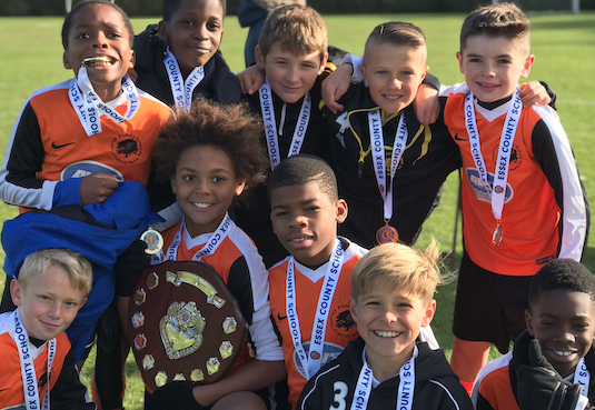 Football: Thurrock primary team are Essex champs