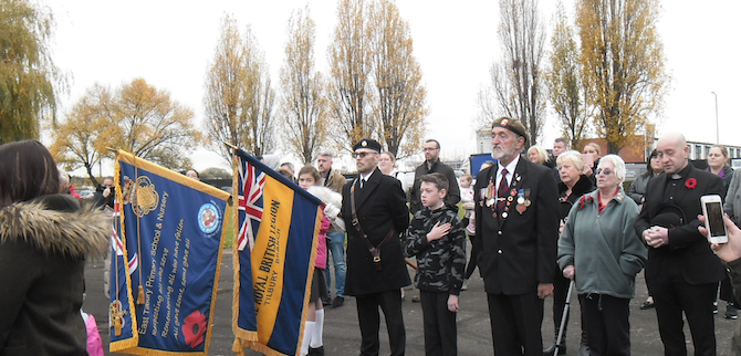 East Tilbury remembers The Fallen