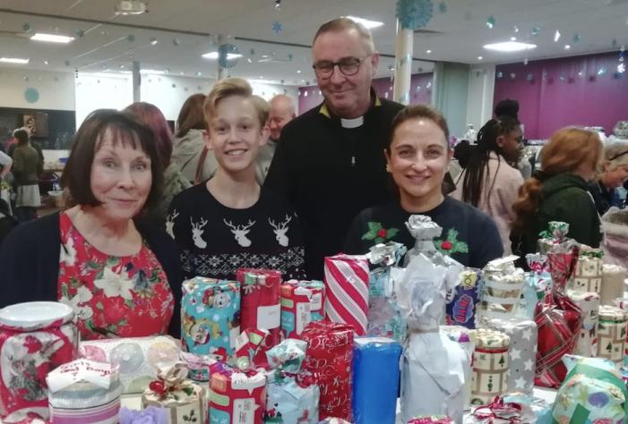 Christmas Bazaar success at St Thomas of Canterbury