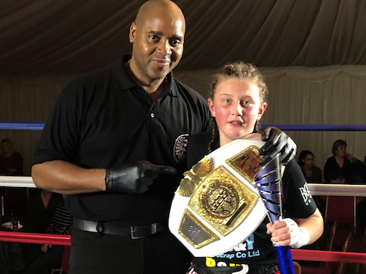 Chadwell St Mary kickboxer Lilie produces another impressive victory