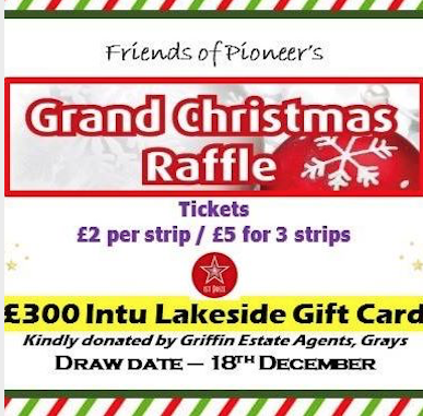 Great prizes at Friends of Tilbury Pioneer Academy raffle