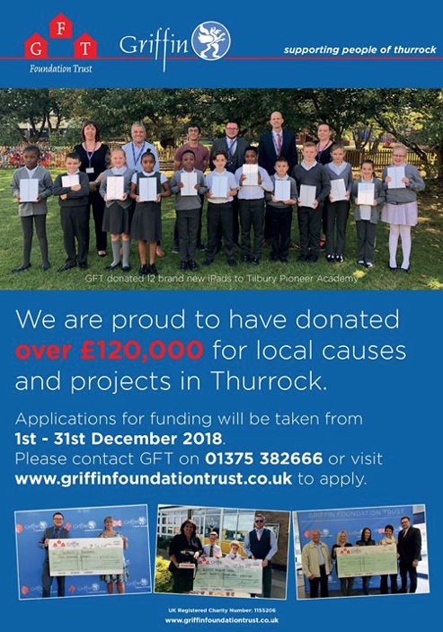 Griffin Foundation Trust: Still time to apply