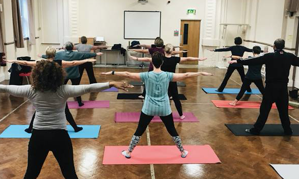 Book a yoga course at the Thurrock Adult Community College