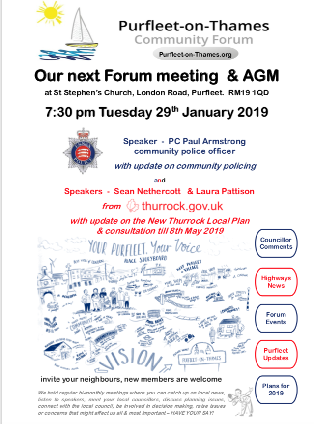 Purfleet-on-Thames Forum and AGM