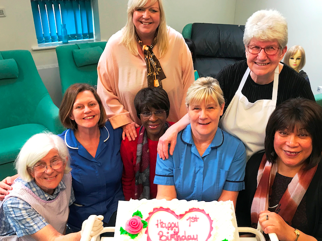 St Luke's Hospice Wig Bank celebrates first birthday