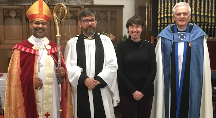 St Stephen's Church in Purfleet welcomes new Vicar