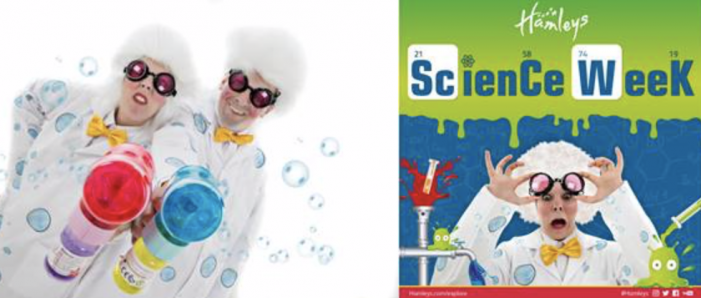 Celebrate National Science Week at Hamleys in Lakeside