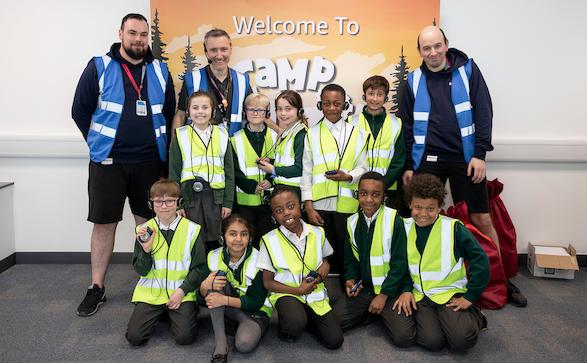 Warren Primary visit Amazon in Tilbury as part of STEM initiative