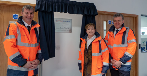 MP Jackie Doyle-Price opens new plant in Grays