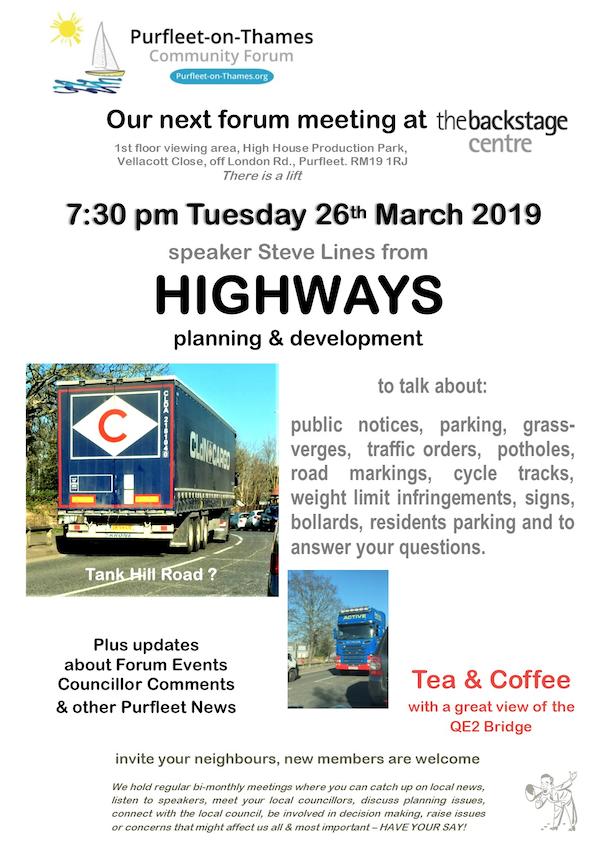 Purfleet-on-Thames Community Forum