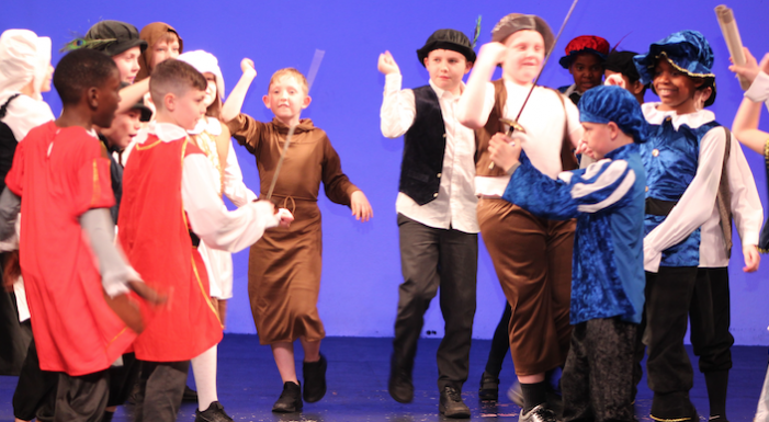 Woodside Academy hold their own Shakespeare Festival