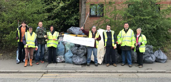 Come and join the Purfleet litter pickers