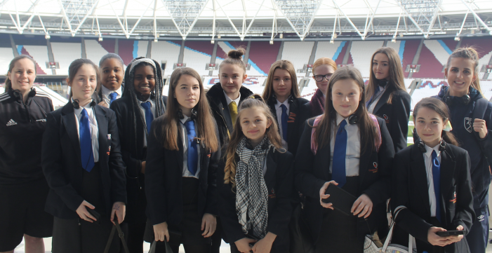 Ormiston Park Academy encourages girls to get involved in sport