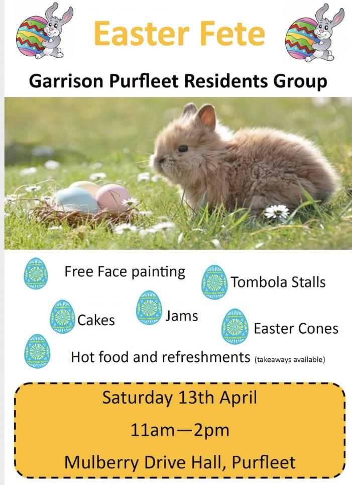 Easter Fete in Purfleet
