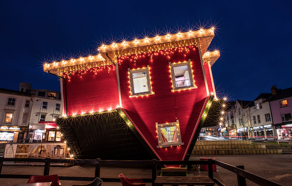 Come and see the Upside Down House at intu Lakeside.