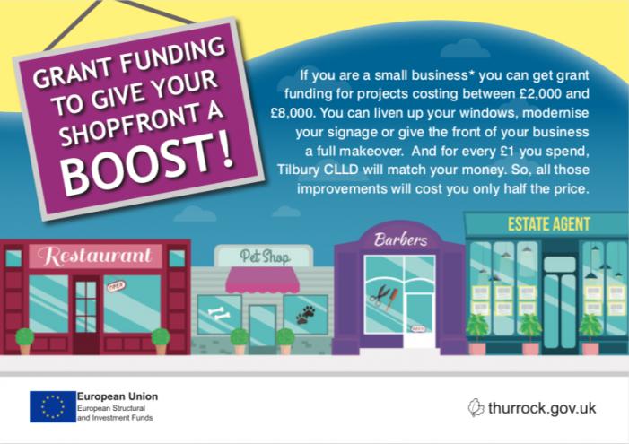 Tilbury businesses can take advantage of EU funding