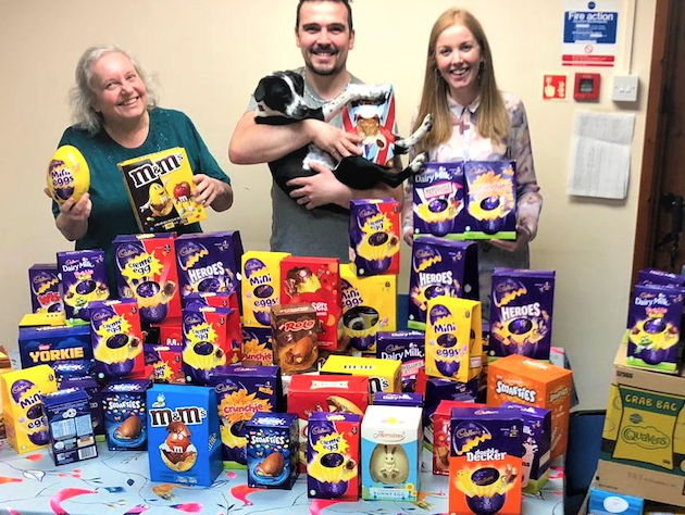 St. Luke's Hospice receives cracking Easter donation