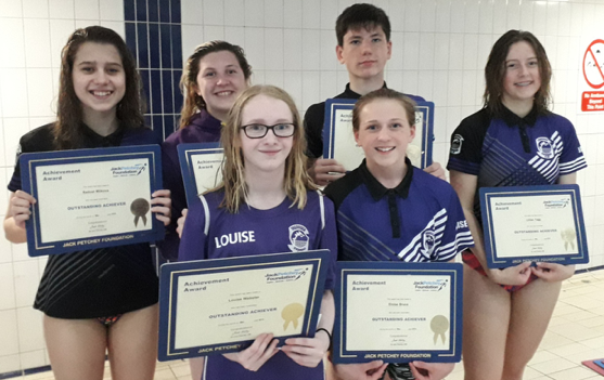 Swimming: Thurrock swimmers lauded with Jack Petchey Awards