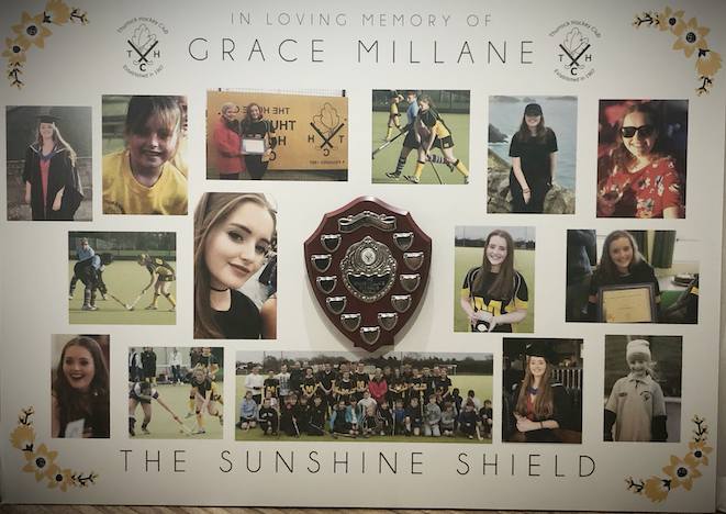 Thurrock Hockey Club introduce Sunshine Shield in memory of Grace Millane