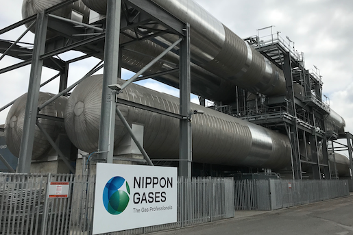 Port of Tilbury team up with Nippon Gases Europe to create CO2 Import Hub