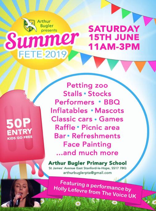 Arthur Bugler Summer Fete