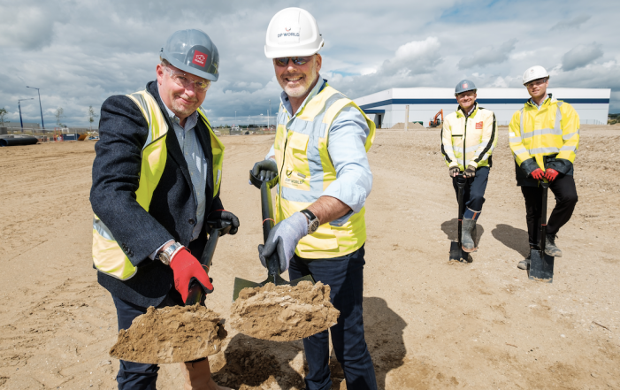 Work begins on major new warehouse at DP World London Gateway