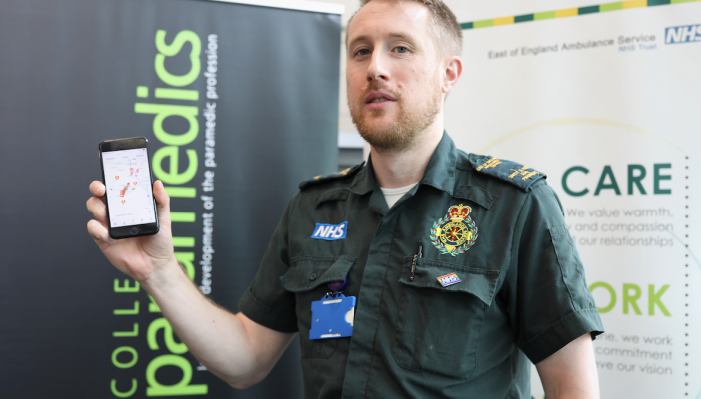 Life-saving initiative launched by ambulance service