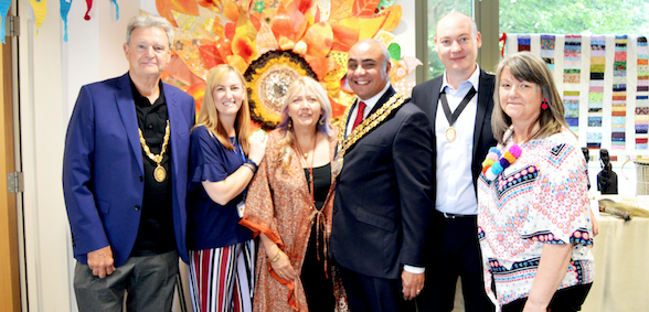 St Luke's Hospice art festival showcases creative work of patients