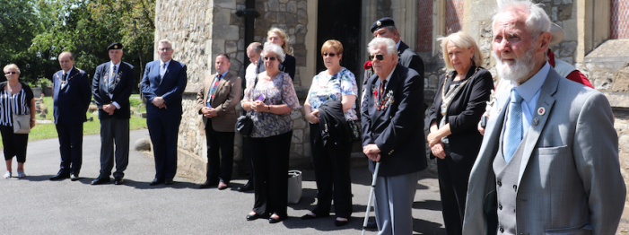 Commemorative service remembers Thurrock's fallen WWI soldiers