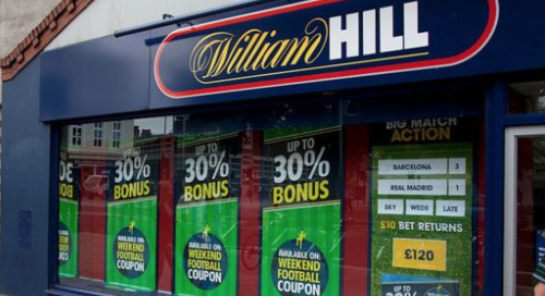 William Hill plans to close up to 700 shops