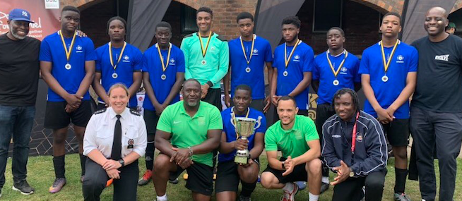 Thurrock teams win Police Football Tournament