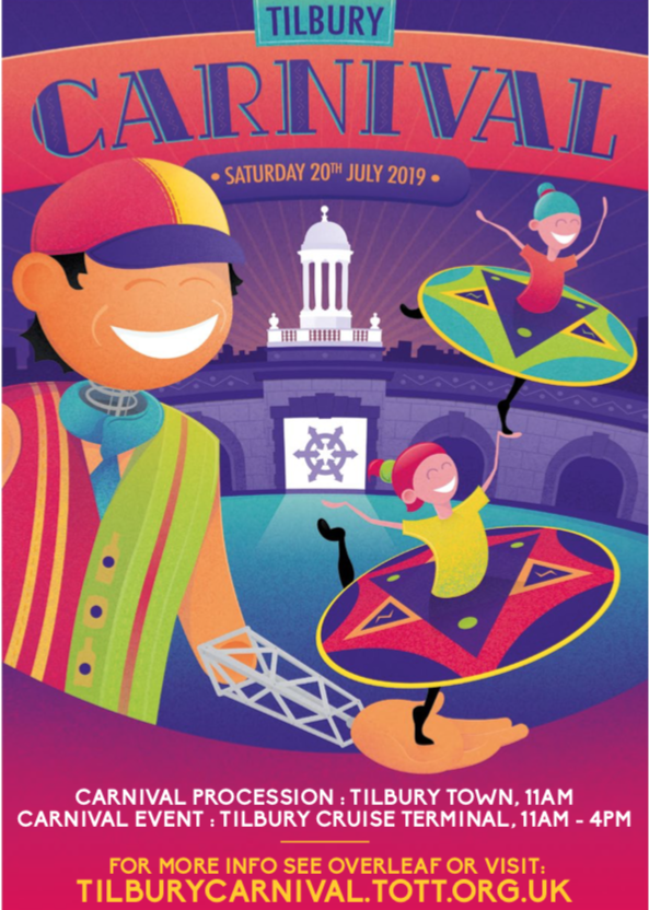 Details of Tilbury Carnival route