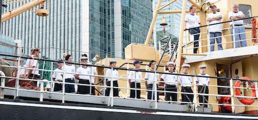 Sea Scout sister ships reunited after Port of London Authority steps in